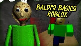 BALDI'S BASICS [Beta] | Baldi's Basics Roblox