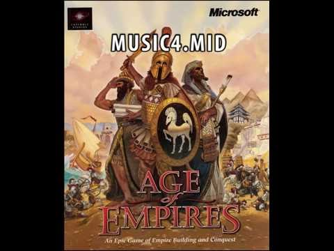 Age Of Empires Soundtrack - MIDI - Windows XP Media Player