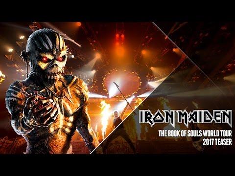 Iron Maiden - 2017 Teaser Ad