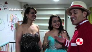 Bate papo pós show Apito de Mestre com a mãe e debutante