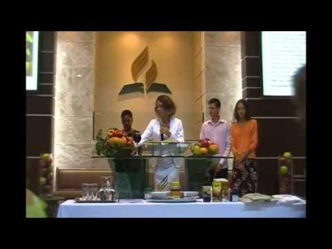 Alba Mendes Semana da Saúde 2015 IASD Boa Vista Curitiba Parte 8 Pecado Perdoado