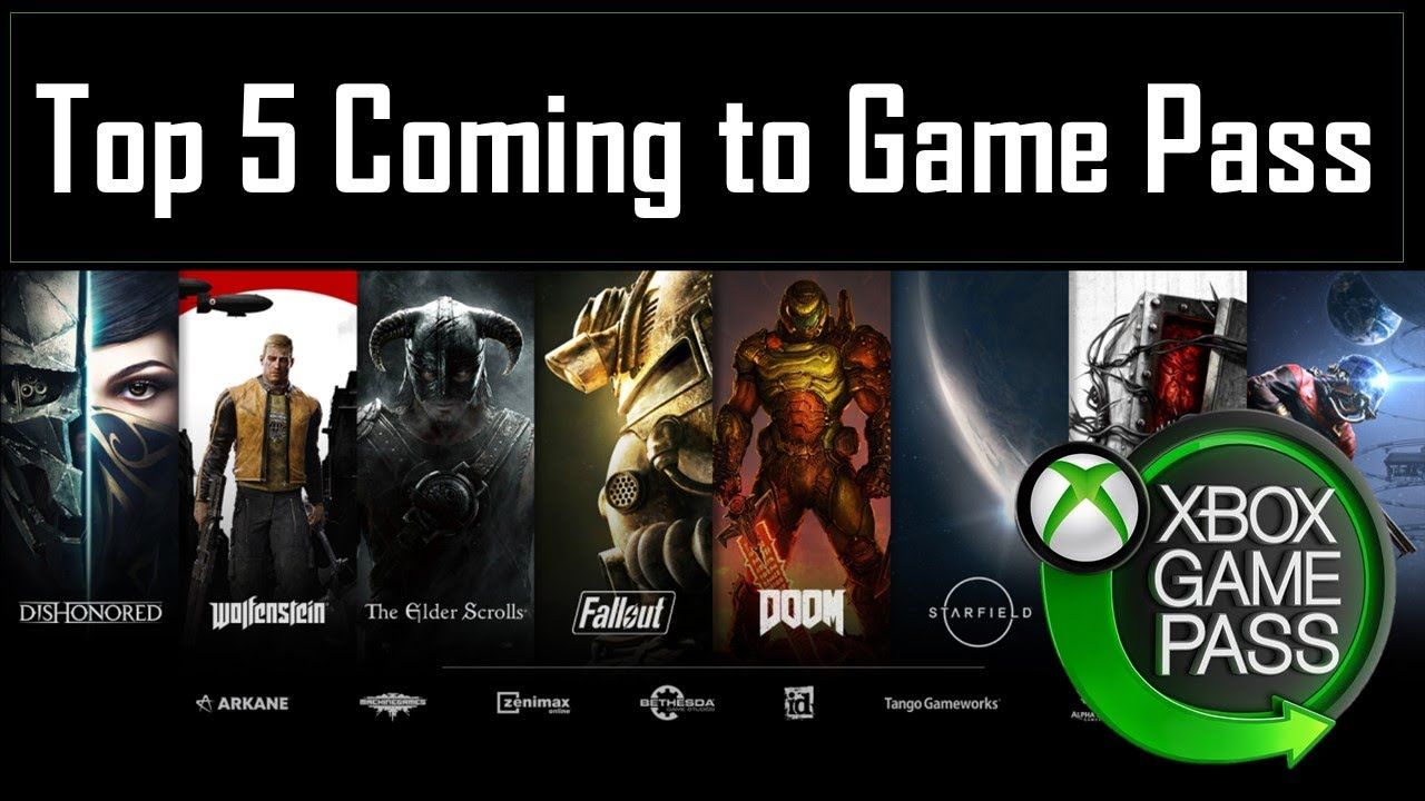 Download Top 5 Bethesda Games Coming to Game Pass in the future.