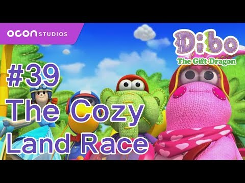 OCON] Dibo the Gift Dragon _Ep39 The Cozy Land Race( Eng dub ...