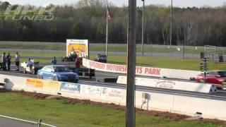 APR Stage III B7 RS4 Supercharger Quarter Mile Times