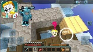 Skywars FUNNY TROLLING 😂 LEGENDARY | Blockman Go
