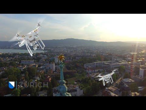 Switzerland Zürich City in 4K | Aerial Drone Video