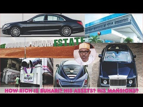 How Rich is Muhammadu Buhari in 2019? ► All His Mansion, Cars, Real Estate, Companies & Luxuries