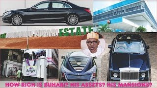 How Rich is Muhammadu Buhari? ► All Buhari's Mansion, Cars, Real Estate, Companies & Luxuries