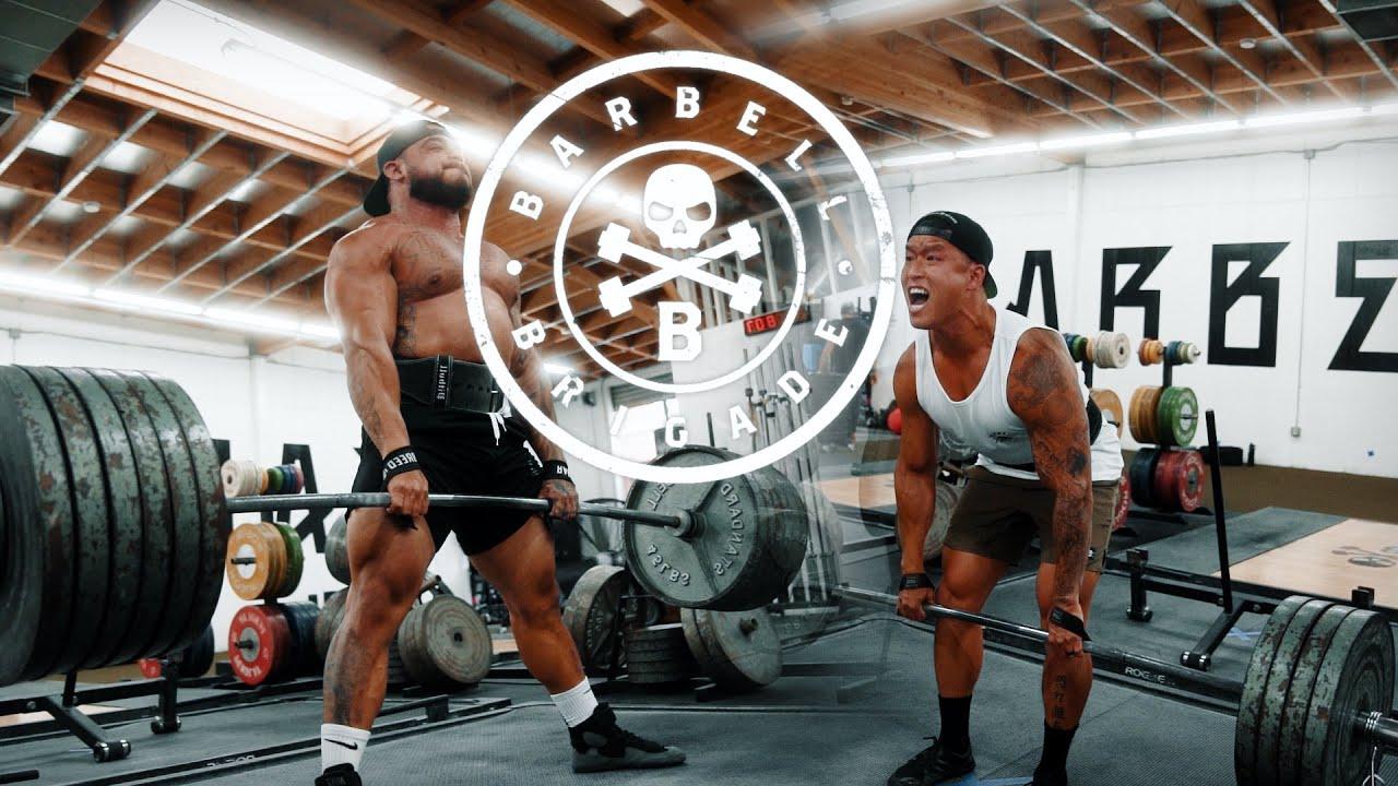 Heavy Deadlifts at Barbell Brigade | Bart Kwan x Pitbull Torres