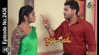Manasu Mamata | 10th November 2018 | Full Episode No 2436 | ETV Telugu