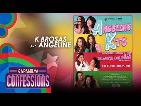Kapamilya Confessions With K Brosas and Angeline Quinto