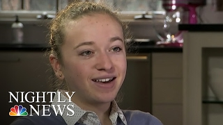 Inspiring America: The Teen Ice Cream Mogul Who Survived Brain Surgery | NBC Nightly News