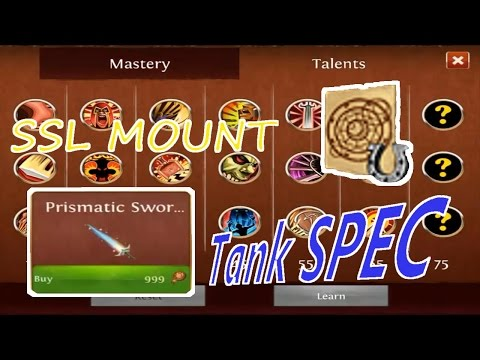 Order & Chaos | Ssl Mount | New Tank Spec | Rainbow Sword