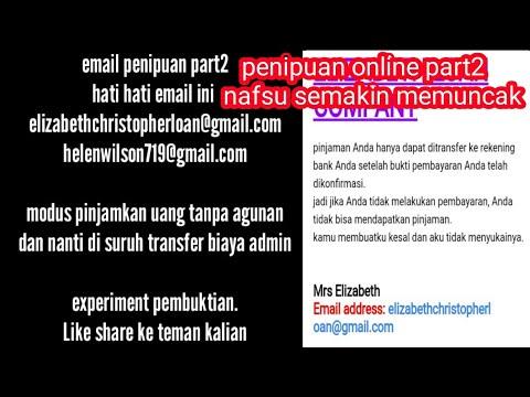 Penipuan Part2 Modus Pinjaman Uang Online Bayar Biaya Admin Maksa
