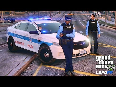 LSPDFR #599 CHICAGO PD PATROL!! (GTA 5 REAL LIFE POLICE PC MOD) GANG UNIT