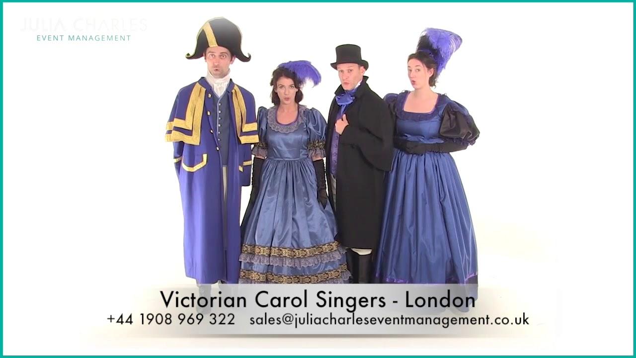 Victorian Carol Singers Christmas Walkabouts London Youtube