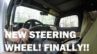 Removing and reinstalling Jeep TJ Steering Wheel