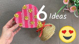 6 IDEAS PARA EL DIA DE LA MADRE/Manualidades