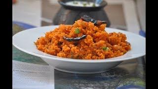 തക്കാളി സാദം ||Tomato Rice || Thakkali Sadam ||VarietyRice- Lunch Box |Tiffin Box Recipe||Eps:231