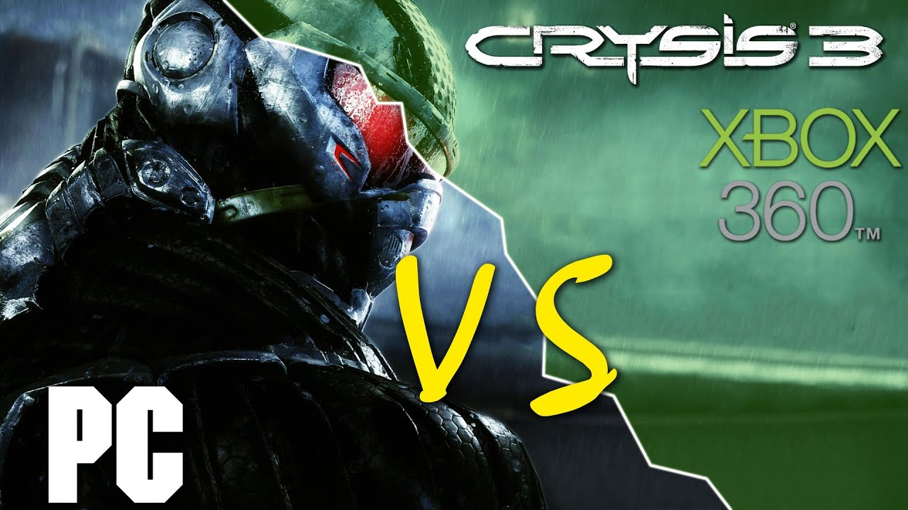 Crysis 3 graphics comparison pc maxed settings vs xbox 360 1080p - Crysis 3 Pc Vs Xbox 360 Comparison Hd