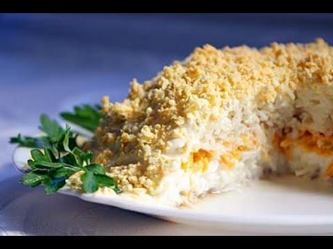 рыбный слоеный пирог с консервами рыбными рецепт пошагово