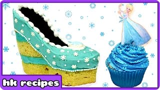 Frozen Christmas | Elsa | Christmas Baking | Elsa Shoe Cake | Disney Princess | Merry Christmas