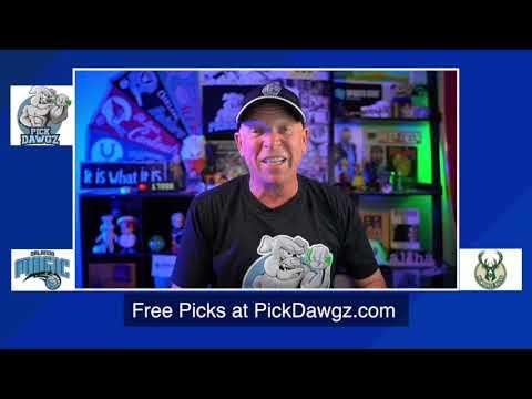 Milwaukee Bucks vs Orlando Magic 8/20/20 Free NBA Pick and Prediction NBA Betting Tips