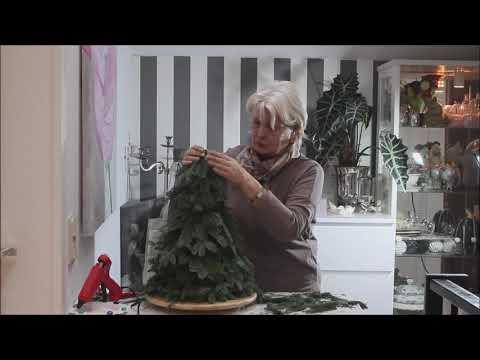 """Weihnachstdeko """" DIY Tannenbaum"""" - Bärbel´s Wohn & Deko Ideen"""
