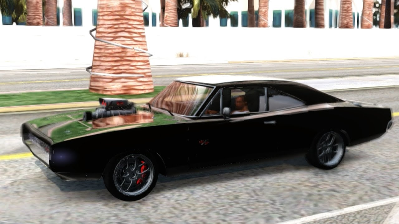Gta San Andreas Dodge Charger Rt Dominic Toretto Fnf 7 Youtube