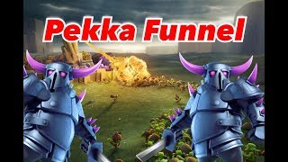 The Art of the Pekka Funnel | Clash of Clans