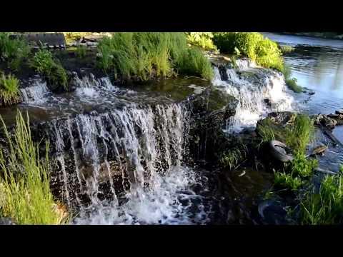 Сланцевский водопад и немного видов р. Плюсса г.Сланцы