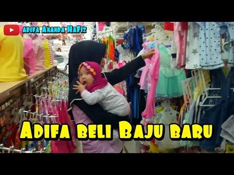 Adifa Beli Baju Lebaran Bareng Ayah Bunda | Adifa Ananda Hafiz