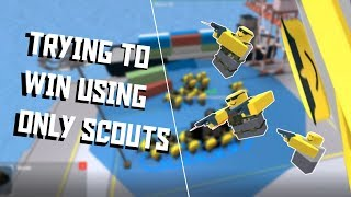 How far can you go with ONLY Scouts [Tower Defense Simulator ROBLOX]