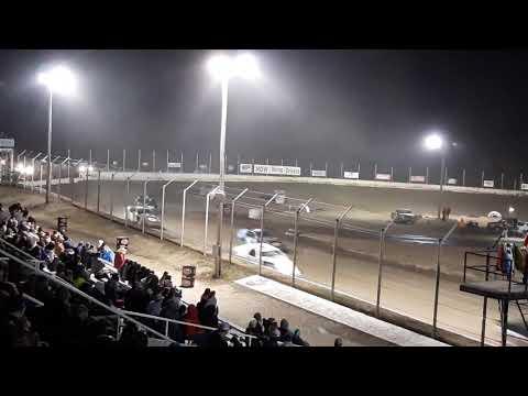 Tyler Kidwell heat race Humboldt speedway