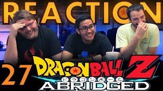 TFS DragonBall Z Abridged REACTION!! Episode 27