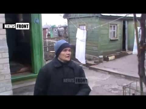 Если бы не вы ополченцы, нас бы давно убили каратели!, жительница Донбасса 03.04.15