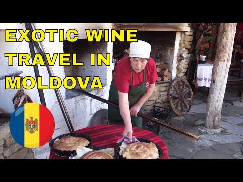 Exotic Wine Travel in Moldova