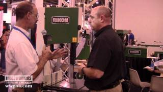 Woodworking Tips & Techniques: Bandsaw - Rikon 14-inch Bandsaw At Awfs 2011
