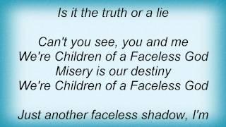 Symphony X - Children Of A Faceless God Lyrics