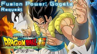 DBS Broly: Fusion Power Gogeta - MajinBlue