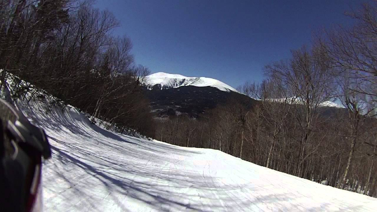wildcat ski area - polecat run - youtube