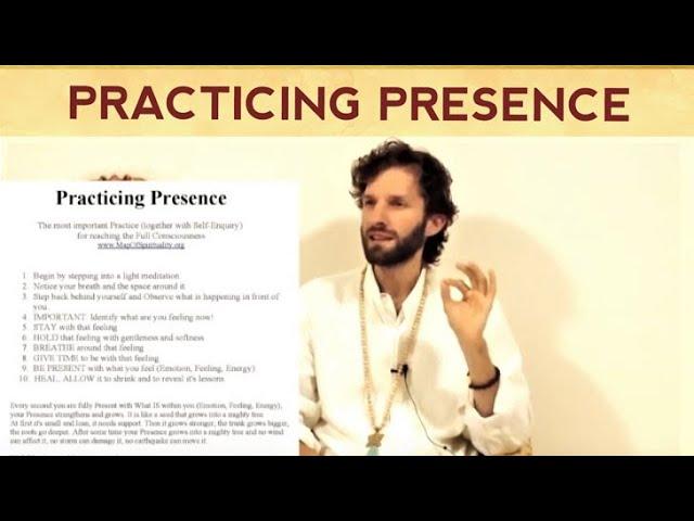 Practicing Presence - The Master Meditation