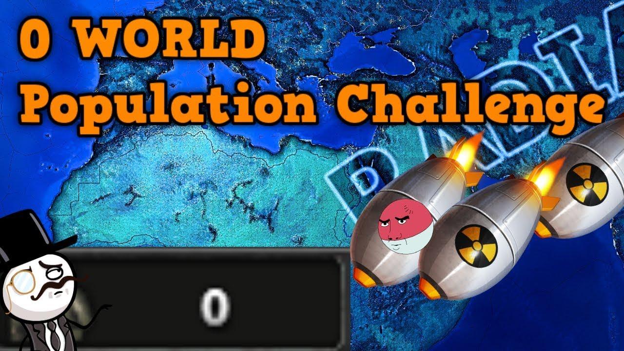 Hearts Of Iron 4 - NO POPULATION CHALLENGE