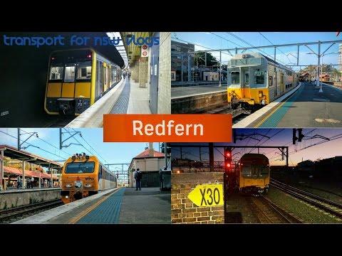 Transport for NSW Vlog No.960 Redfern part 6 - Afternoon Peak ( 1 hour )