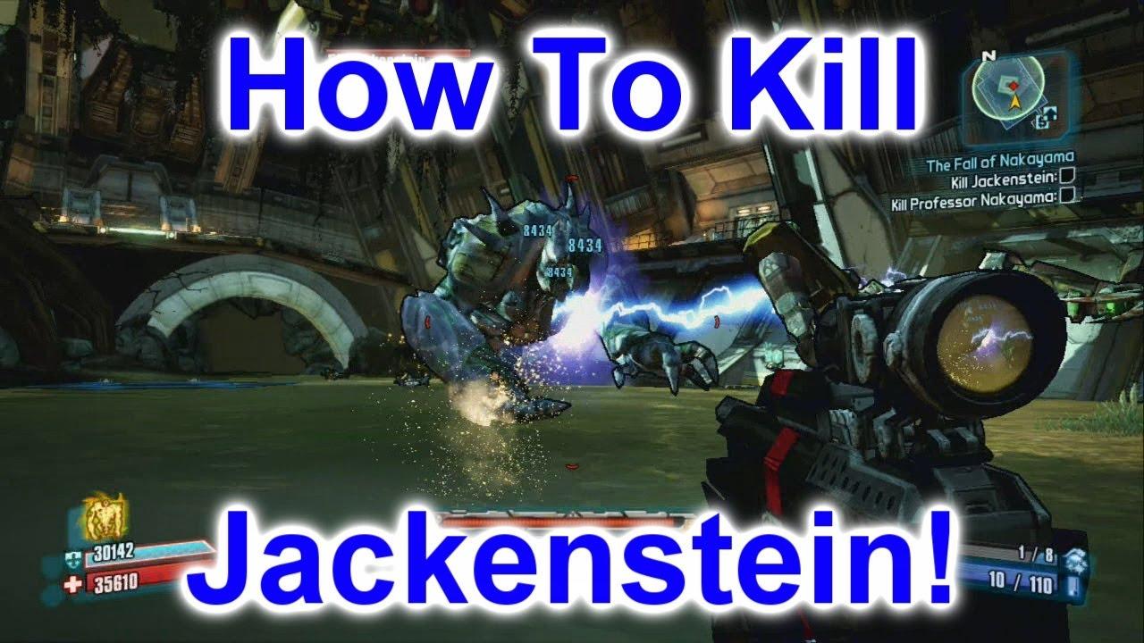 How To Kill Jackenstein - Sir Hammerlock DLC