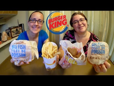 Thumbnail: Burger King Big Fish And We Were Wrong | Gay Family Mukbang (먹방) - Eating Show