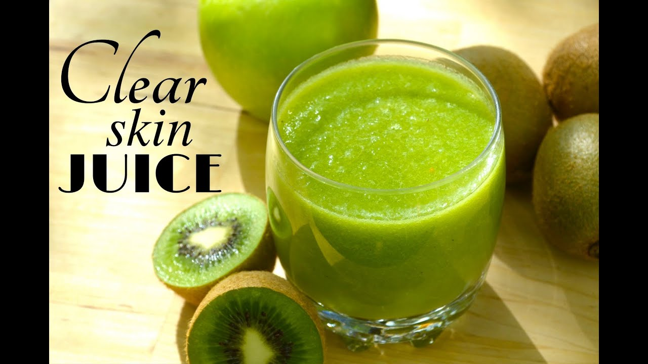 Clear Amp Glowing Skin Juice Only 2 Ingredients Youtube