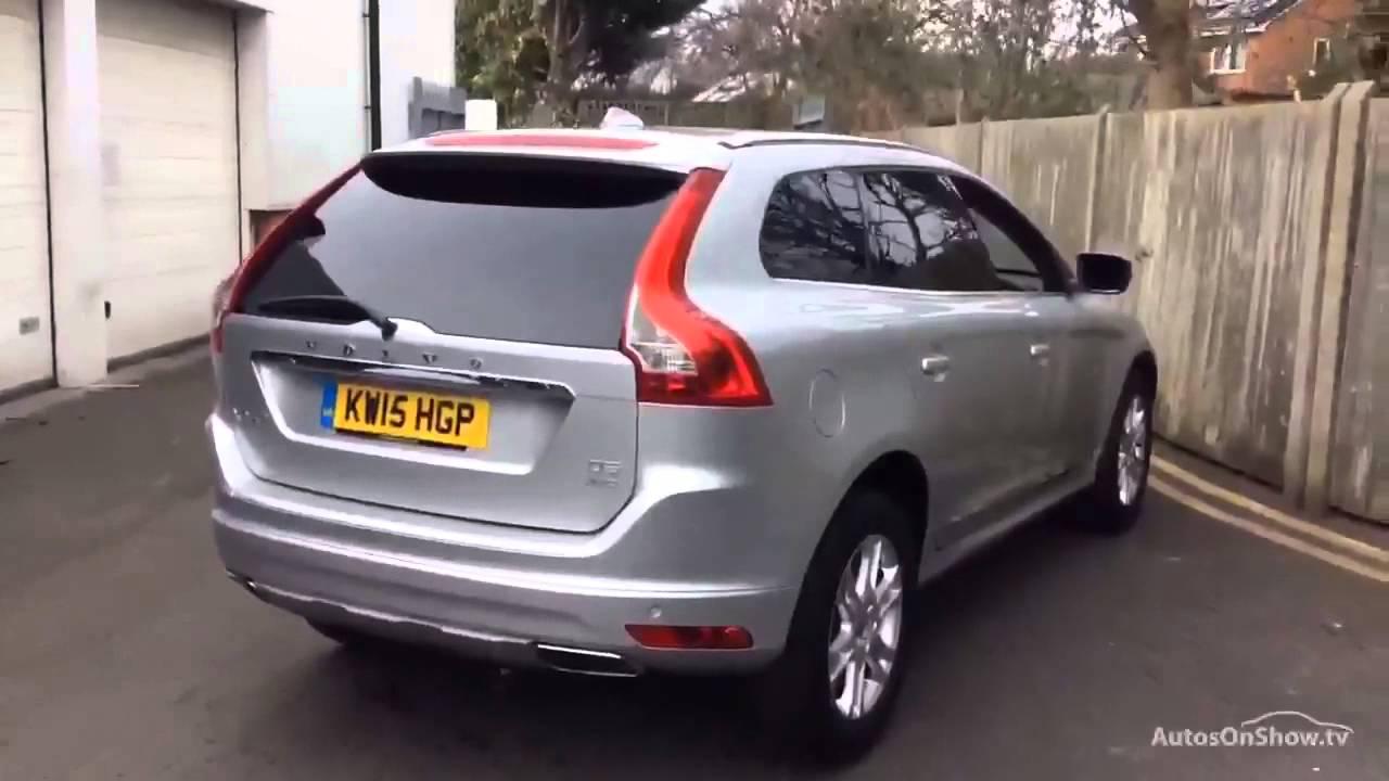 Volvo Xc60 D5 Se Lux Nav Awd Aluminium Silver 2015 Youtube