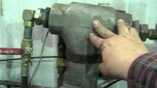 Waste Oil Wood Stove Tanks and Filter Screens 1.avi Adding a waste oil burner