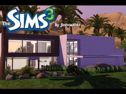 The Sims 3 House Designs - 'Modern Oasis' Egyptian mansion